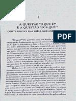 francis wolff - a questão do o que é e a questão do porque das coisas - classicos e contemporâneos.pdf