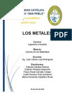 Informe Metales