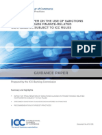 1238 Guidance Paper on the Use of Sanctions Clauses in Trade Finance-Related Instruments Subject to ICC Rules