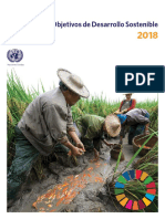 TheSustainableDevelopmentGoalsReport2018 ES