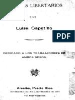 Capetillo, Luisa - Ensayos Libertarios - Arecibo, Puerto Rico. Noviembre de 1904 a Noviembre 1907 - [Tip. Real Hermanos].pdf