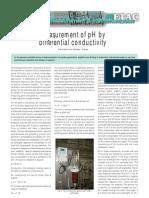 Measurement of pH