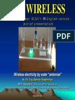 H2O Wireless Electricity
