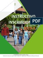 INSTRUCTIVO INSCRIPCIÓN