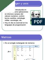 03 - Matrices. Introducción