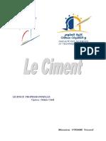 Le Ciment Fabrication Et Normes