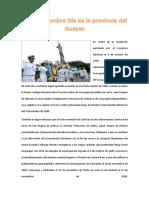 8 de Noviembre Día de La Provincia Del Guayas