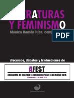 Literaturas y feminismo - Ebook Final – Mónica Ramón Ríos y Sangría Editora