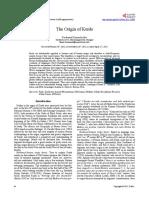 The Origin of Kurds