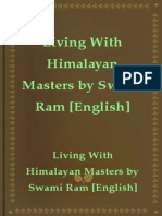 Living With Himalayan Masters by Swami Ram English