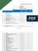 Specific Tailored Documentation Checklist-Microsoft Dev and IMP