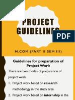 mcom project