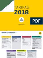 Tarifas 2018 Canarias Enero 2018