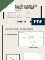 Gaviones en Defensa Ribereña