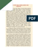 Traducción Del Pergamino de Chinon 1