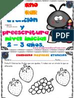 Fichas Para Trabajar La Preescritura Nivel Inicial 2 – 3 Años Parte2
