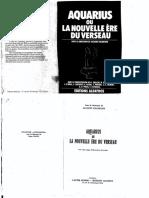 Aquarius Ou La Nouvelle Ére Du Verseau   Dir. Jacques  Halbronn