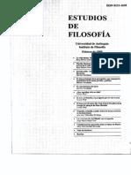 Estudios de Filosofía 030