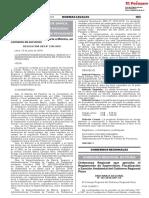 Ordenanza Regional Que Aprueba El Reglamento de Supervision Ordenanza