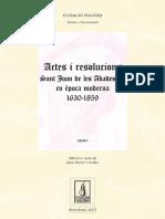 Sant Joan de les Abadesses en Època Moderna (1630-1859). Volum I