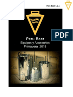 Peru Beer Catalog