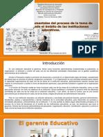Mallerlyn SangronisMAPA CONCEPTUAL_Principios Fundamentales Del Proceso de La Toma de Decisiones Desde El Ámbito de Las Instituciones Educativas
