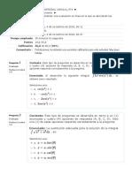 Quiz Unidad 2 Calculo Integral