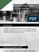 Formación Profesorado Siglo XIX Escuela Normal