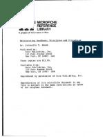 Metalworking Handbook - Principles and Procedures