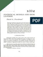 DavidFreedman_statisticalmodelsandShoeleather