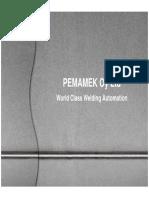 Pemamek Company Presentation 2009, Boiler Seminar