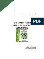 Turismo Sostenible para el Desarrollo Comunitario