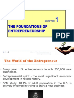 Chapter 1_The Foundations of Entrepreneurship