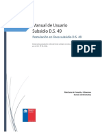 Manual Usuario Subsidio DS49