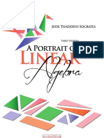 A Portrait of Linear Algebra, 3rd Edition