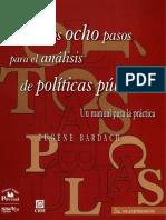 Ocho Pasos para el Análisis de Políticas Públicas