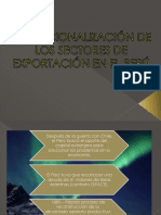 Exportación en el Perú