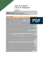 Winnicott - CONSULTAS TERAPEUTICAS (resenha).docx