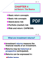 FM11_Ch_04_Risk and Return the Basics