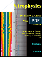 Paul Glover Petrophysics