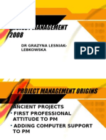 Project Management 2008 New