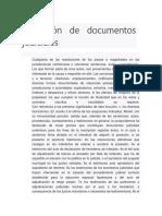 Definición de Documentos Judiciales