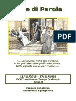 Sete di Parola - XXXII settimana T.O. - B.doc