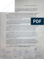 Repudio a Los Dichos Del Diputado Nacional Alfredo Olmedo