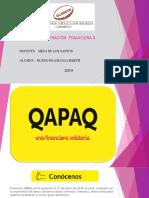 Administración Financiera II Qapaq