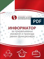 Informator za prijavljivanje imovine i prihoda javnih funkcionera.pdf