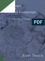 The Shape of Biblical Language - J. Breck