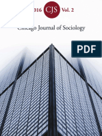 Chicago Journal of Sociology 2016