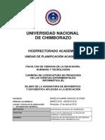 Silabo-Asignatura_matemática y Estadística Aplicada a La Educación_paralelo_a