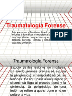Tema n. 2 Traumatologia Forence